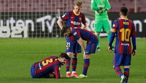 Gerard Piqueden Barcelonaya kötü haber
