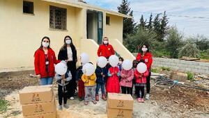 Türk Kızılay Hatay Toplum Merkezi'nden 627 çocuğa eğitim kiti