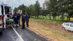 HDPli kadın yöneticilerin otomobili devrildi 4 yaralı