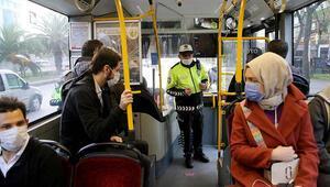 İstanbulda 65 yaş üstü ve 20 yaş altı için toplu taşıma kısıtlamasında yeni karar