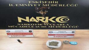 Eskişehir'de uyuşturucu satıcısı 1 kişi tutuklandı