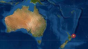 Son dakika haberi: Yeni Zelanda açıklarında 7.3lük deprem