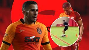 Son dakika: Galatasarayda Omar Elabdellaouiden sevindiren paylaşım