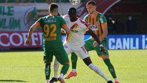 Alanyaspor 1-1 Göztepe (Maçın özeti ve goller)