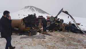 Son dakika haberi: Bitliste askeri helikopter düştü 11 şehidimiz var