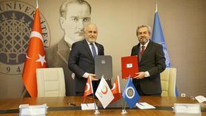 Ankara Üniversitesi ve Türk Kızılay'dan akademik iş birliği