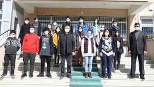 Çubuklu öğrenciler 7 projeyle TEKNOFEST'te