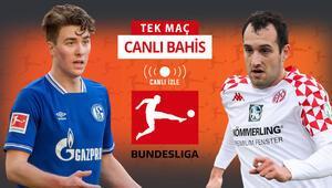 Schalkede 9 sakat, artı 2 de şüpheli Gelsenkirchende Mainzın iddaa oranı...