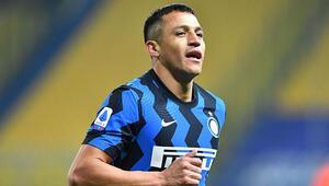 Inter, Parma engelini Alexis Sanchezin golleriyle aştı