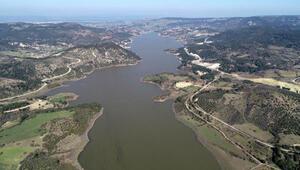 Çanakkalenin içme suyunu karşılayan Atikhisar Barajı'nın doluluk oranı yüzde 73,5e ulaştı
