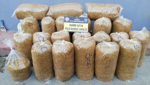 Osmaniye'de 100 kilo kıyılmış kaçak tütün ele geçirildi