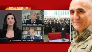 CNN Türk yayınında duygu dolu anlar