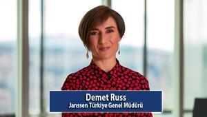 Janssen Türkiye Genel Müdürü Demet Russ:  Dünya Kadınlar Gününde hayalim, kız çocuklarının her şeyi başarabileceklerine inandıkları bir dünya