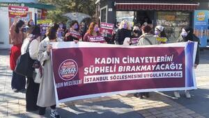 Kayseride kadın cinayetleri protesto edildi