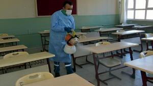 Aliağadaki tüm okullar dezenfekte edilecek