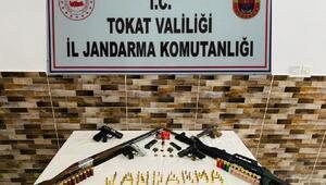Tokatta silah ve tarihi eser kaçakçılığı operasyonu