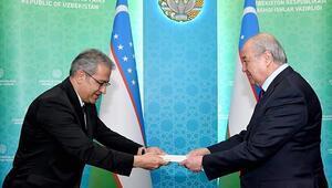 Türk Büyükelçi, güven mektubunun örneğini Özbekistan Dışişleri Bakanı Kamilova sundu