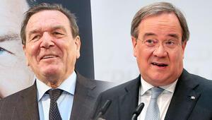 Schröder girdi, ya Laschet