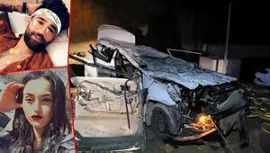 Otomobil 10 metreden taklalar atarak düştü Kahreden haber geldi...