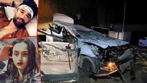 Bursada kontrolden çıkan otomobil 10 metreden inşaata düştü: 2 ölü