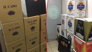 Kaçak tütünü sahte bandrolle satan belediye işçisi gözaltına alındı