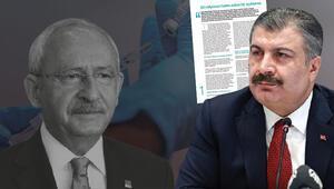 Son dakika haberi: Bakan Kocadan Kılıçdaroğlunun bedava koronavirüs aşısı iddiasına sert tepki: Kötü niyetli yaklaşımı meşru göremeyiz
