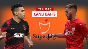 Galatasarayda Falcao ve Taylan ilk 11e dönüyor Sivasspor karşısında galibiyetlerine iddaada...