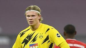 Erling Haaland büyülemeye devam ediyor Bayern Münihten transfer açıklaması