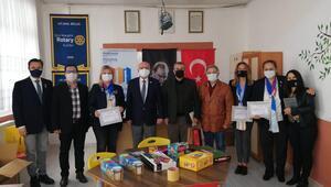 Rotaryden eğitime büyük destek