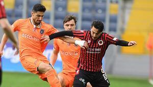 Gençlerbirliği 0-1 Başakşehir (Maçın golü ve özeti)