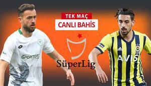 Fenerbahçede Gustavo ve İrfan Can ilk 11de olacak mı Konyasporun iddaa oranı...