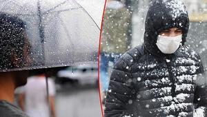 Meteoroloji tarih vererek duyurdu Tüm yurtta yağış olacak: Sağanak yağmur, kar...