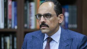 Cumhurbaşkanlığı Sözcüsü İbrahim Kalından açıklamalar