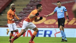 Galatasaray yeni seriye hazırlanıyor Falcao sevinci...