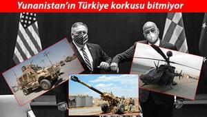 Türkiye sınırında adeta yığınak yaptılar: ABDden Yunanistana yeni silah hibesi