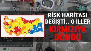 8 Mart Koronavirüs Türkiye tablosunda son durum.. Hangi iller düşük, hangi iller yüksek riskli..