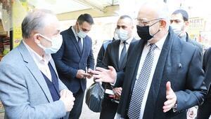 Manisa Büyükşehir Belediye Başkanı Ergün, esnaf ve vatandaşları uyardı: Rehavete kapılmayalım
