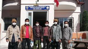 Osmaniye'de 6 kaçak göçmen yakalandı