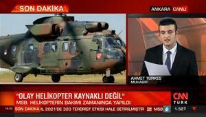 Bitlis Tatvan'da yaşanan helikopter kazası ile ilgili kaza kırım heyeti çalışmalarını tamamladı
