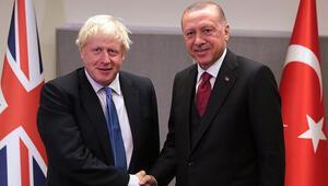 Son dakika... Cumhurbaşkanı Erdoğandan Boris Johnson ile kritik görüşme
