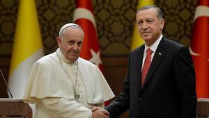 Papa, Cumhurbaşkanı Erdoğana telgraf gönderdi
