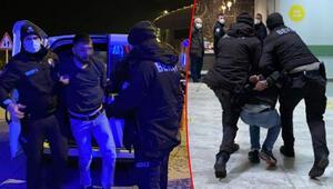 Kısıtlamayı ihlal etti, mahalle bekçisine saldırdı Kafa atıp tekmeler savurdu...
