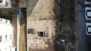 Çekmeköyde 2 kardeş ölü bulunmuştu İnşaat havadan görüntülendi