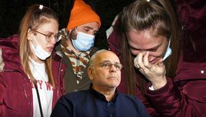 Rasim Öztekinin vefat haberini alan Ceyhun Fersoy ve eşi Begüm Öner gözyaşlarına boğuldu