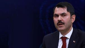 Çevre ve Şehircilik Bakanı Kurum, İstanbul Finans Merkezinde incelemelerde bulundu