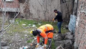 Niksar Belediyesinden titiz temizlik çalışması