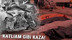 Son dakika... Muğlada katliam gibi kaza 5 kişi hayatını kaybetti