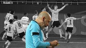 Borussia Dortmund - Sevilla maçında gerginlik Cüneyt Çakırın kararı sonrası...