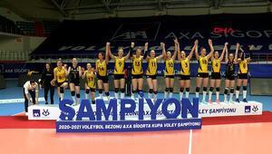 VakıfBank, 7nci kez Kupa Voley şampiyonu