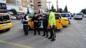 Kahramanmaraşta ticari taksilere korona denetim